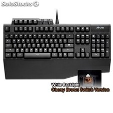 Teclado gigabyte gaming aivia osmium brown