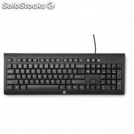 Teclado hp keyboard wired K1500