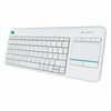 Teclado inalambrico logitech wireless touch keyboard k400 plus