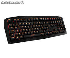 Teclado Krom kratos cherry red gaming