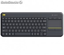 Teclado logitech bluetooth K400 plus black