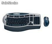 Teclado Mouse Inalambrico USB PS2 Microsoft