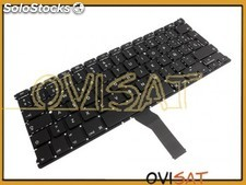 Teclado negro para Apple Macbook Air A1369 (2011), A1466 (2012)