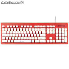 Teclado ngs clipper red -