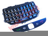 Teclado preto de BlackBerry 9800
