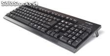 Teclado Shark Net Cyber Black