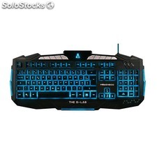 Teclado the g-lab KEYZ200/sp-n gaming PGK02-A0016724