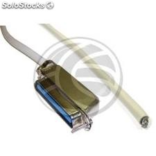 Telco cabo 28AWG DS0-50 (Telco-50 h/Open-End) 1,8 (CI93)