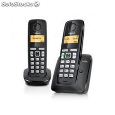 ✅ telef. Inalambrico dect digital gigaset AS405 duo