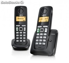 Telef. Inalambrico dect digital gigaset AS405 duo PGK02-A0011304