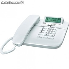 Telefono analogico DA610 blanco - display id call - bloq. Marcacion con funcion