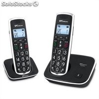 Teléfono inalámbrico spc 7609N dect duo Tec.Grd. AG20 id lcd eco