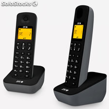 Telefono inalambrico spc air black duo