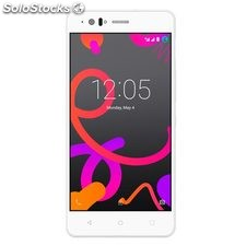 Telefono movil BQ Aquaris M5 dual sim 3gb + 16 gb libre blanco