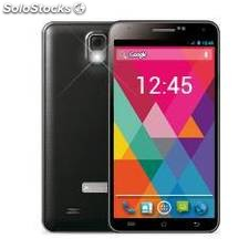 Telefono movil smartphone 5,5 phoenix rock xl negro quad core 1.3 ghz / pantalla