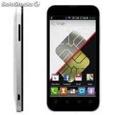 Telefono movil smartphone aeg ax500 pantalla 4 / dual core 1.2 ghz / 4gb /