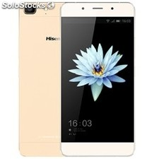 "Telefono movil smartphone hisense C1 gold / 5.5"" super amoled / 16 GB rom / 2 GB"