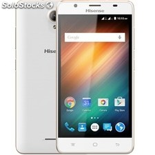 "Telefono movil smartphone hisense U989 / 5.5"" / blanco / quad core / 8GB rom /"