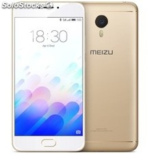 "Telefono movil smartphone meizu M3 note gold / 5.5"" / 16GB rom / 2GB ram / 13"