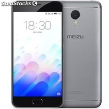 "Telefono movil smartphone meizu M3 note grey / 5.5"" / 32GB rom / 3GB ram / 13"