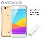Telefono movil weimei force 3GB+16GB 4G doble whatsapp dual sim libre oro