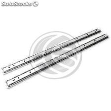 Telescopic side guides for IPC rack box depth 550mm (RZ66-0003)