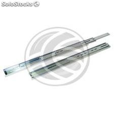 Telescopic side guides for IPC rack box depth 600mm (RZ67)