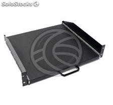 Telescopic Tray 2U rack mounting with front 400mm background (RZ33-0002)