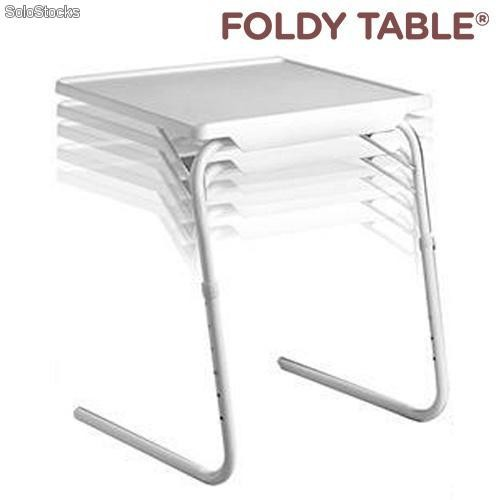 Teletienda mesa plegable foldy table - Petite table pour ordinateur portable ...