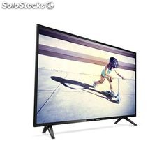 "Televisión Philips 32PHT4112/12 32"" hd Ready led usb Ultra Slim Negro"