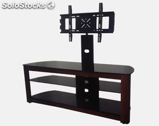 Tempered stainless steel tube three layer Muebles de Tv