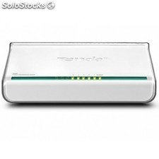Tenda - 5-Port Fast Ethernet Switch Unmanaged network switch Blanco