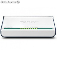 Tenda - 8-Port Fast Ethernet Switch Unmanaged network switch Blanco