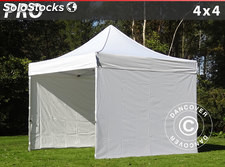 Tenda Dobrável FleXtents PRO 4x4m Branco, incl. 4 paredes laterais