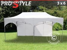 "Tenda Dobrável FleXtents PRO ""Arched"" 3x6m Branco, incl. 6 paredes laterais"