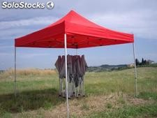 Tenda Gazebo Easy in alluminio 3mx3m tubolare 30x30mm apertura Rapida