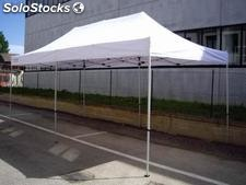 Tenda Gazebo Easy in alluminio 3mx6m tubolare 30x30mm apertura Rapida