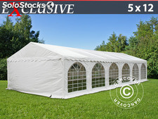 Tenda para festas Exclusive 5x12m PVC, Branco