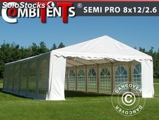 Tenda para festas, SEMI PRO Plus CombiTents® 8x12 (2,6)m 4-em-1