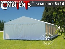 Tenda para festas, SEMI PRO Plus CombiTents® 8x16 (2,6)m 6-em-1