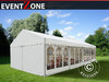 Tenda party professionel - 6x12m tenda party professionel