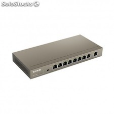 Tenda - TEF1109P Managed network switch Fast Ethernet (10/100) Energía sobre