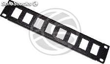 "TENRack RackMatic Patch Panel 10"" de 8 portas 1U (Keystone) (TR42)"
