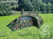 Tente camouflage Woodland RECOM, 1 personne