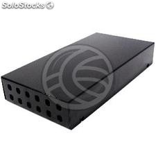 Terminal Box Fiber Optic ST 12 black metal (FQ35)