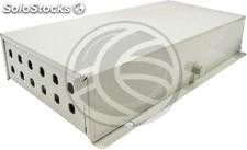 Terminal Box optical fiber 12 ST beige metallic (FQ52)