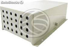 Terminal Box optical fiber 24 ST beige metallic (FQ55)
