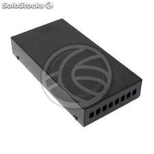 Terminal Box optical fiber black metal 8-SC (FQ31-0002)