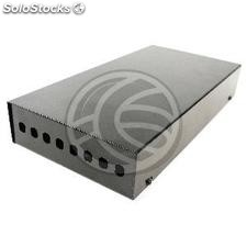 Terminal Box optical fiber black metal 8-ST (FQ32-0002)
