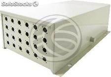 Terminal Box optical fiber of 24 FC beige metallic (FQ56)